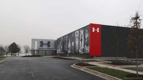 Outside Building 37 (courtesy Under Armour)