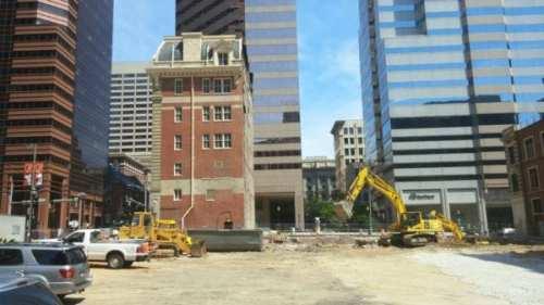 Construction at 1 Light St. (photo: Ed Gunts)