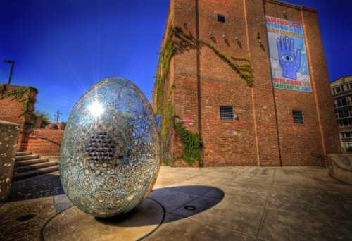 The American Visionary Art Museum. Photo by Jack Hoffberger