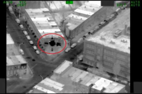 An image from the ACLU's report on FBI surveillance of Baltimore.