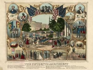 The Fifteenth Amendment, c1870