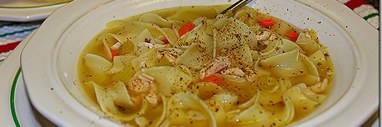 Easy to Make Rainy Day Homemade Chicken Noodle Soup