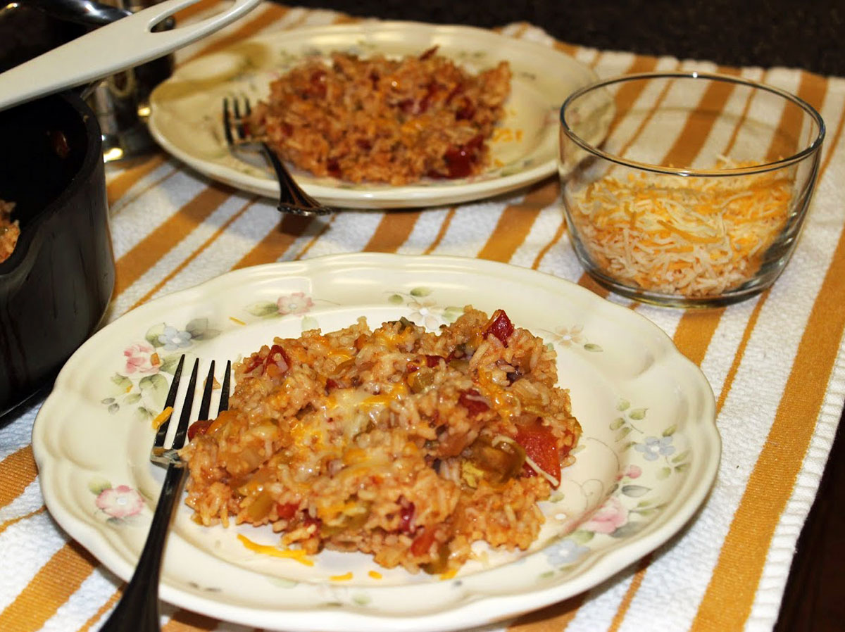Burch Hacienda Fantastico Spanish Rice