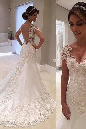 Simple elegant wedding dresses - Prom / Evening / Wedding Dresses