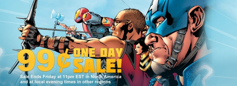 Marvel puts Ultimates up in Friday 99 cent sale!