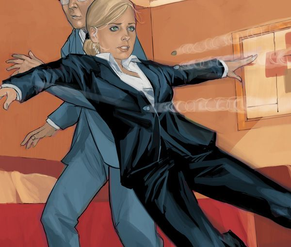 Review – Buffy The Vampire Slayer Season 9 #11 Guarded Part 1