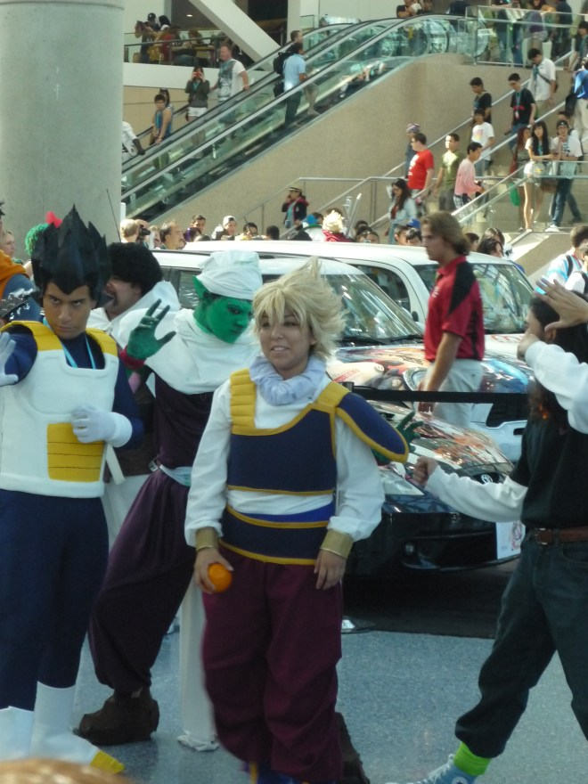 Dragon Ball Z Group Vegetas  - Anime Expo 2012 Cosplay
