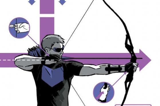Hawkeye #2 Preview Cover