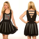 Feel the Power of the dark side as you pretend to be Darth Vader in this super flattering and stylish A-line dress. Subtle yet recognizable to any Star Wars fan, you'll impress others with this fashion twist on Darth Vader's famous wardrobe.