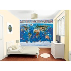 Small Crop Of 3d Wall Murals