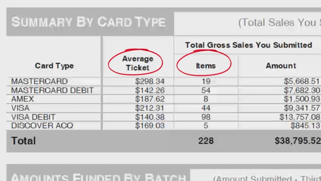How To Read A Merchant Account Statement - First Data Omaha
