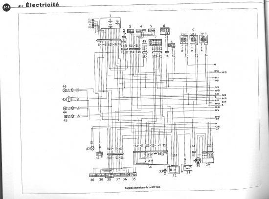 2008 gsxr 600 schema cablage