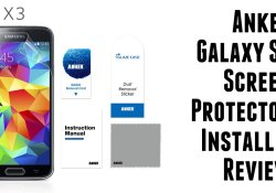 anker gs5 screen protector review
