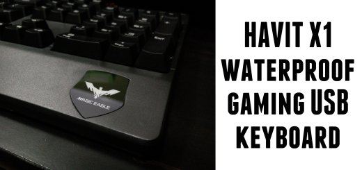 havit waterproof usb keyboard