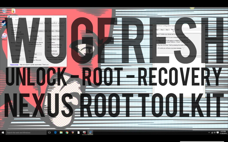 wugfresh nexus root toolkit