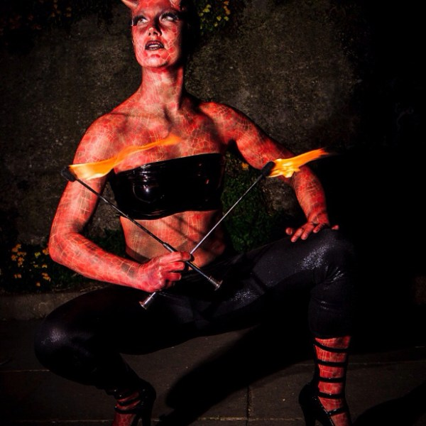 Body Painting - Devil Roo - Darkslide