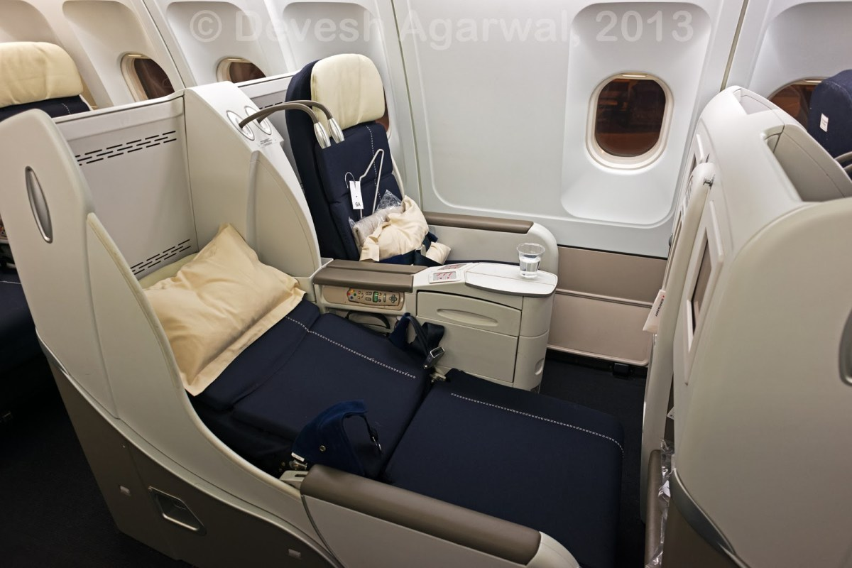 In-flight review: Air France business class: A330-200: Bangalore Paris Mumbai