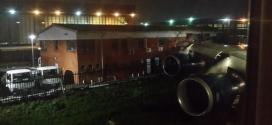 British Airways Boeing 747 slices into house