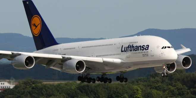 Lufthansa to fly Airbus A380 to New Delhi from October 27