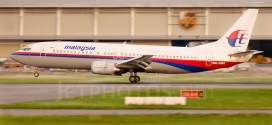 Malaysia Airlines Boeing 737-400 9M-MMK Penang Bayan Lepas Int'l Airport