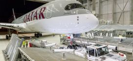 Photos: Qatar Airways' first A350-900 XWB progressing to year end delivery