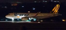 Tigerair Airbus A320 9V-TRN.