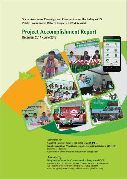 BCCP  Resources - Project Completion Report