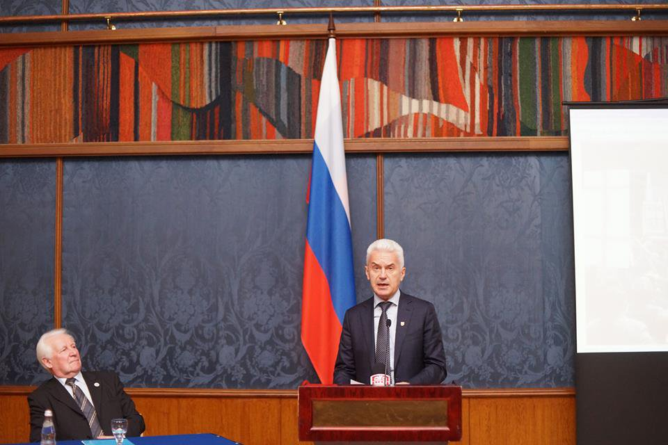Volen Siderov launching campaign in Moscow