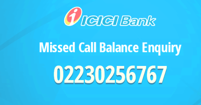 Check ICICI Bank Balance Through SMS or Missed Call