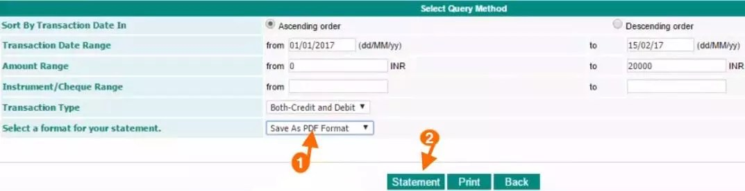 How to Download IDBI Bank Account Statement in PDF format