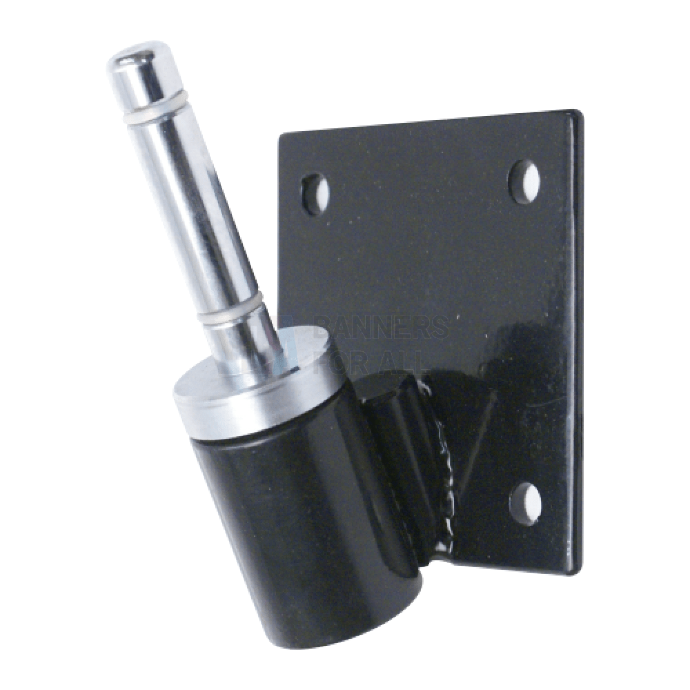 25 Flag Pole Bracket With Rotating Spindle Fixed Mounts