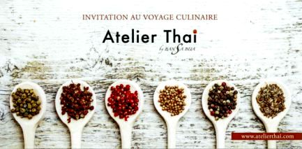 Carte cadeau Atelier Thai