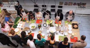 Atelier Thai en vidéo
