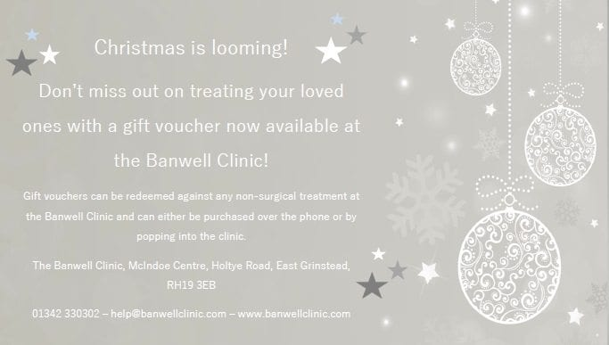 Gift vouchers! \u2013 The Banwell Clinic