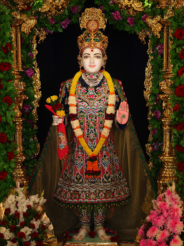 Baps Ghanshyam Maharaj Hd Wallpaper 30th Anniversary Celebrations Of Baps Shri Swaminarayan