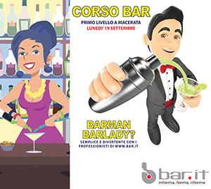 19 settembre CORSO BARMAN