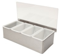 Stainless Steel Condiment Holder - PRICE DROP!