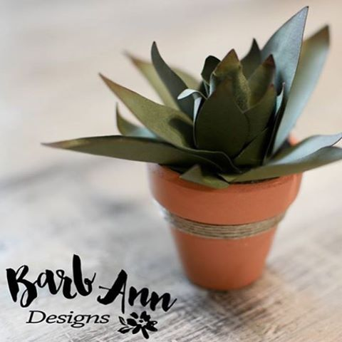 Making paper succulents help shake off the wintertime blues barbanndesignshellip