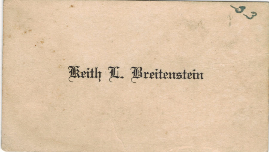 Graduation Cards and the Name Inserts \u2013 Barbara K Henritze Research