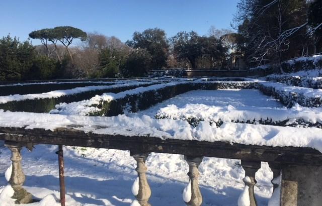 italian gardens villa borghese