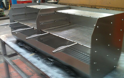 Build A Brick Bbq Grill In Stainless Steel Use My Guide