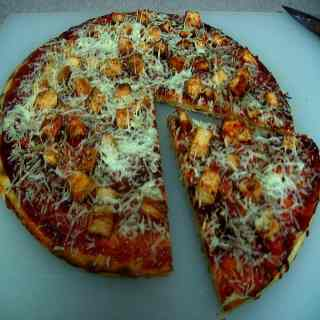 Barbequed Chicken Pizza