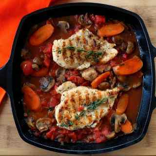 Chicken Chasseur-Hunter Style Chicken