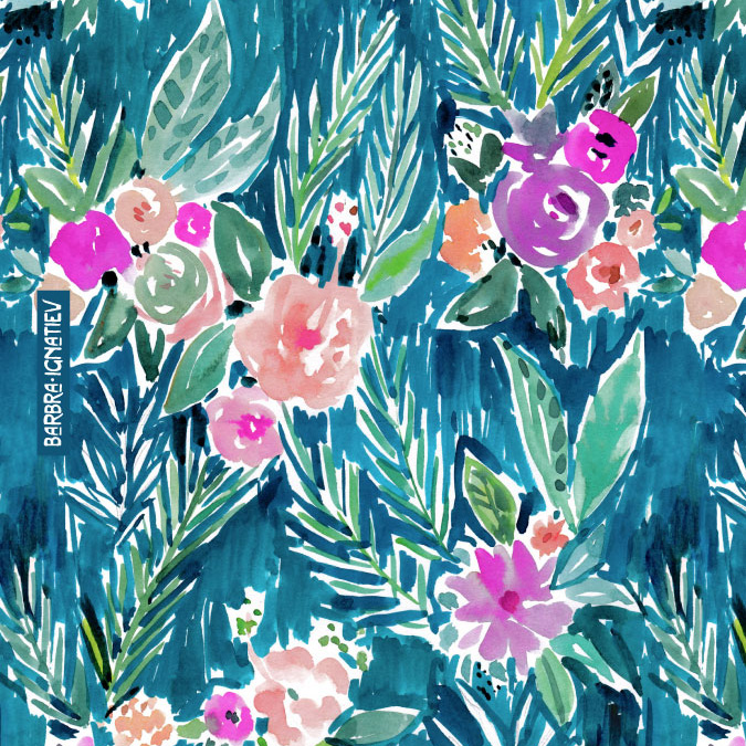 Lilly Pulitzer Wallpaper Fall Botanicals 183 Barbarian By Barbra Ignatiev 183 Bold Bohemian
