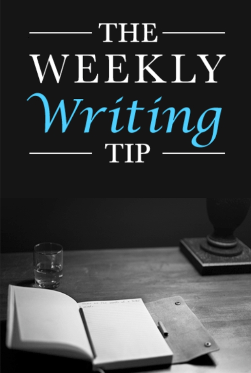 Weekly Writing Tip