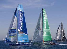 Le départ de la 1ere Barcelona World Race