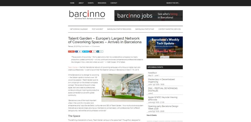 How To Work With Barcinno  Share Barcelona Startup News - Work Articles