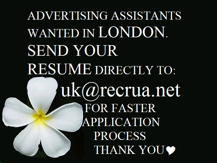 Advertising Assistant in London, United Kingdom - BarefootStudent - advertising assistant resume