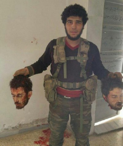 These beheadings took place in Khan Sheikhoun, Idlib by Jabhat al-Nusra,