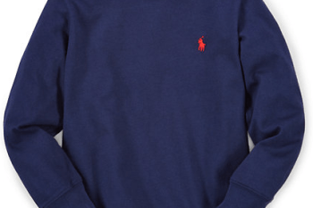 Polo Ralph Lauren Boys' Long-Sleeved T-Shirt for $7 + free shipping